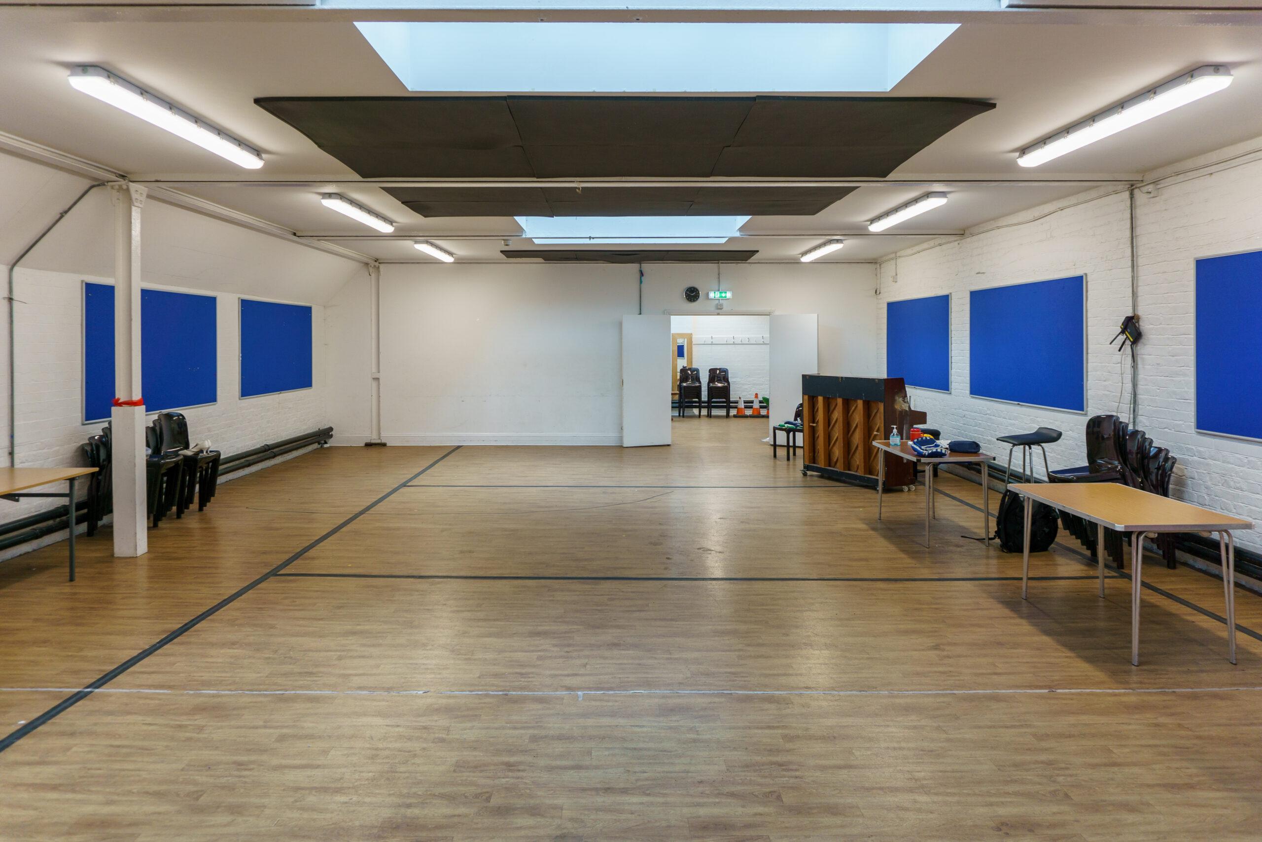 Boy's Club Hall Back