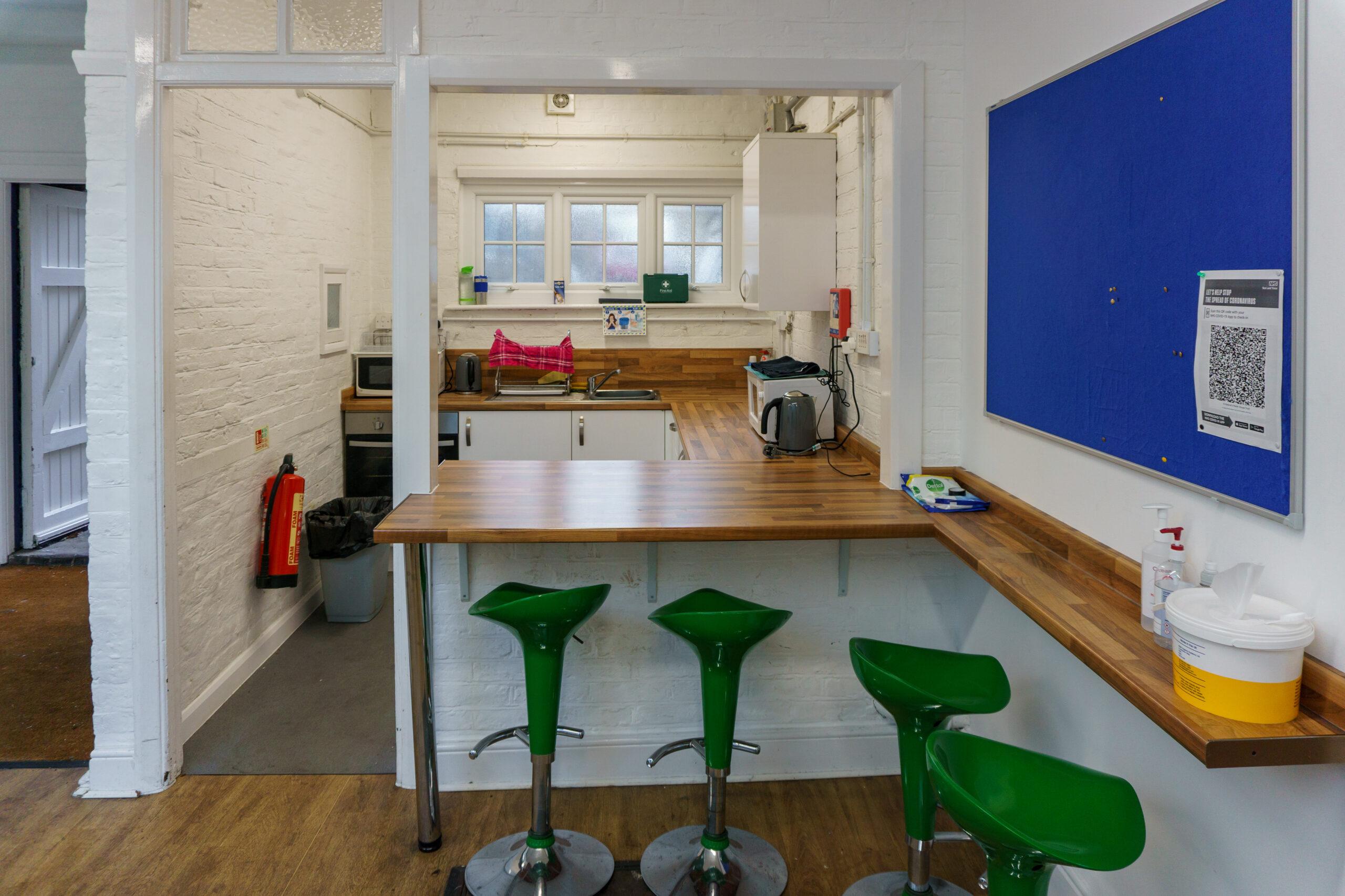 Boy's Club Kitchen